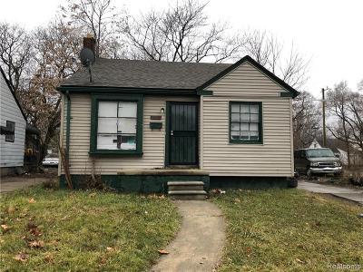 Detroit Single Family Home For Sale: 19625 Annott Street