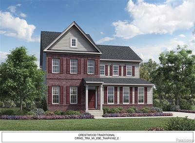 Canton, Canton Twp Single Family Home For Sale: 50862 Silverton Drive