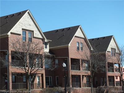 Royal Oak Condo/Townhouse For Sale: 1435 S. Washington Ave #110