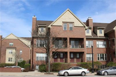 Royal Oak Condo/Townhouse For Sale: 1433 S Washington Avenue #108