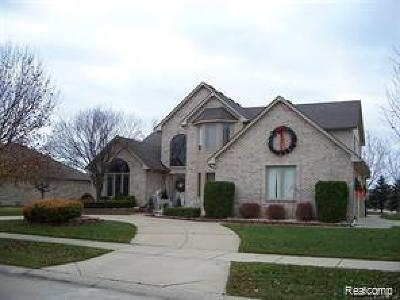 Macomb Twp Single Family Home For Sale: 55625 Danube Avenue