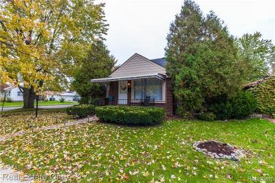 Allen Park Single Family Home For Sale: 7805 Rosedale Boulevard