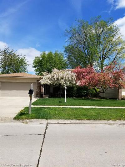 Canton, Canton Twp Single Family Home For Sale: 1668 Aberdeen Street