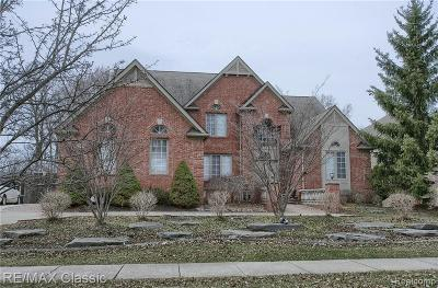 West Bloomfield Twp Single Family Home For Sale: 5562 Hampshire Drive