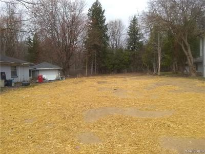 Southfield Residential Lots & Land For Sale: 20108 Woodburn Drive