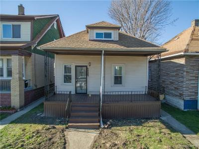 Hamtramck Single Family Home For Sale: 2371 Botsford Street