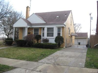 Allen Park Single Family Home For Sale: 14585 Oconnor Avenue