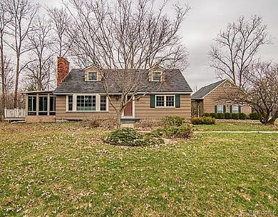 Grosse Ile, Gross Ile, Grosse Ile Twp Single Family Home For Sale: 20866 Thorofare Road