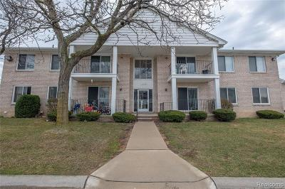 Sterling Heights Condo/Townhouse For Sale: 14140 Merriweather Street #204