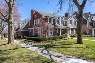 Birmingham Single Family Home For Sale: 1098 Fairfax Street