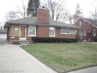 St. Clair Shores Single Family Home For Sale: 21520 Statler Street