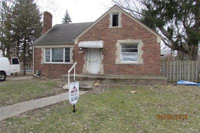 Detroit Single Family Home For Sale: 4565 Woodhall Street