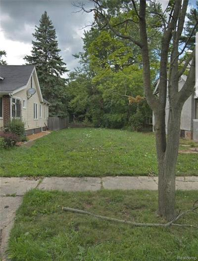 Macomb County, Oakland County, Wayne County Residential Lots & Land For Sale: 462 Marlborough Street