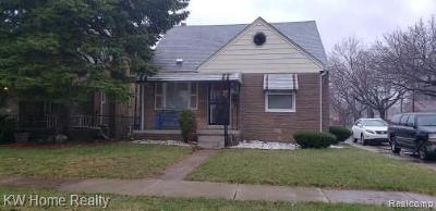 Warren, Eastpointe, Roseville, St Clair Shores Single Family Home For Sale: 20867 Cyman Avenue