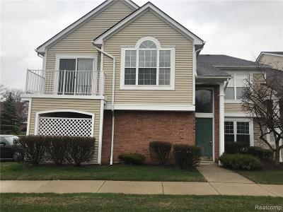 Macomb County Condo/Townhouse For Sale: 56150 Chesapeake Trail