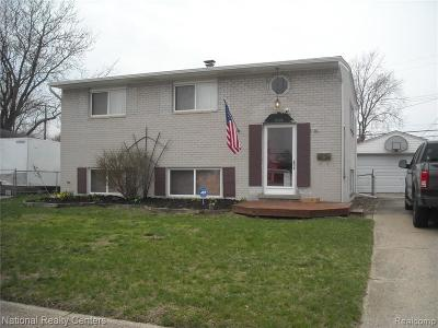 Plymouth Twp, Canton Twp, Livonia, Garden City, Westland Single Family Home For Sale: 6605 Caribou Street
