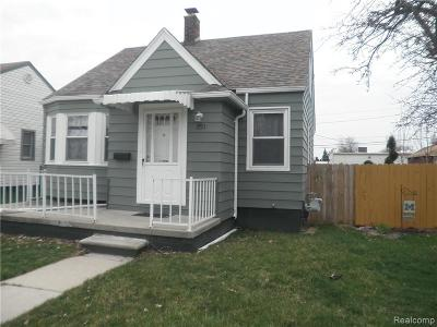 Wyandotte Single Family Home For Sale: 1793 Sycamore Street