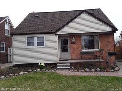 Allen Park Single Family Home For Sale: 9708 Ruth Avenue