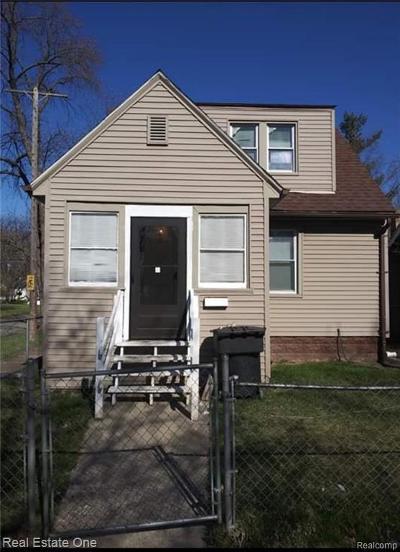 Detroit Single Family Home For Sale: 14044 Ward Street