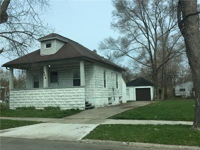 Hazel Park Single Family Home For Sale: 446 W George Ave Avenue W