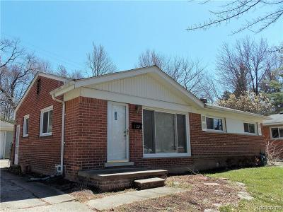 Rochester Single Family Home For Sale: 1294 Maple Drive