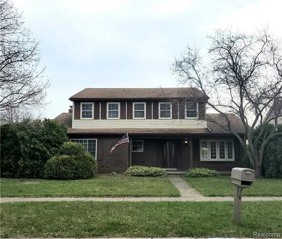Taylor Single Family Home For Sale: 9615 Rose St Street