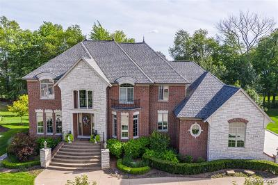Shelby Twp MI Single Family Home For Sale: $874,900