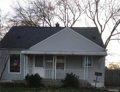 Southgate Single Family Home For Sale: 12680 Pearl Street