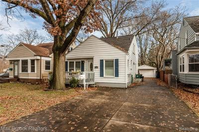 Royal Oak Single Family Home For Sale: 2918 N Main Street