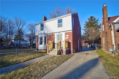 Detroit Single Family Home For Sale: 5066 Eastlawn Street