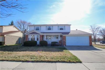 Canton, Canton Twp Single Family Home For Sale: 6714 Woodmere Drive