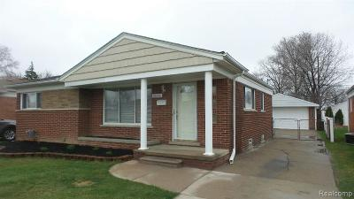 Macomb County Single Family Home For Sale: 28606 Boston Street