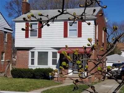 Detroit Single Family Home For Sale: 19750 Steel Street