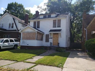 Detroit Single Family Home For Sale: 16611 Lawton Street