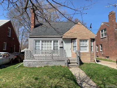 Detroit Single Family Home For Sale: 8107 Rosemont Avenue