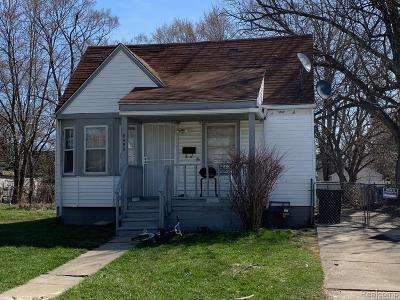 Detroit Single Family Home For Sale: 8492 Artesian Street