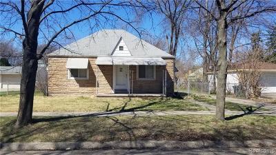 Hazel Park Single Family Home For Sale: 623 E Elza Avenue