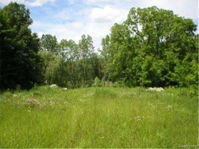West Bloomfield Twp Residential Lots & Land For Sale: 7230 Walnut Lake Rd Road W