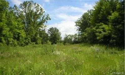 West Bloomfield Twp Residential Lots & Land For Sale: Walnut Lake Rd Road W
