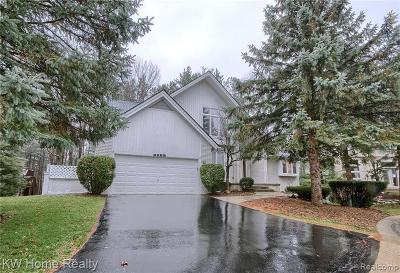 West Bloomfield, West Bloomfield Twp Single Family Home For Sale: 6289 Lindsay Court