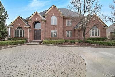Macomb County, Oakland County, Wayne County Single Family Home For Sale: 2750 Pebble Beach Drive