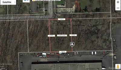 Southfield Residential Lots & Land For Sale: Par 54 Fredrick