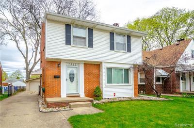 Allen Park Single Family Home For Sale: 7527 Kolb Avenue