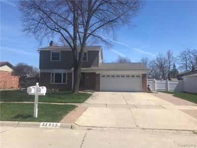 Woodhaven Single Family Home For Sale: 22057 Hillcrest Ct Court