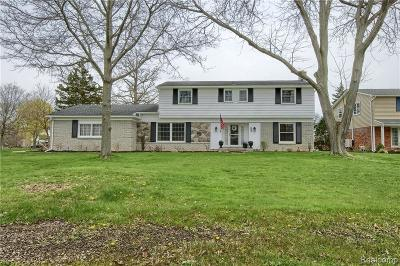 Grosse Ile Twp MI Single Family Home For Sale: $299,900
