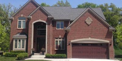 Commerce, Commerce Township, Commerce Twp Single Family Home For Sale: 1969 Camrose Court