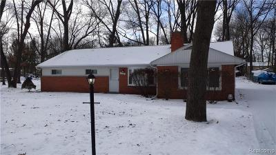 West Bloomfield, West Bloomfield Twp Single Family Home For Sale: 2360 Keith Road