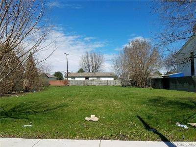Hazel Park Commercial Lots & Land For Sale: 1759 E Woodward Heights Boulevard