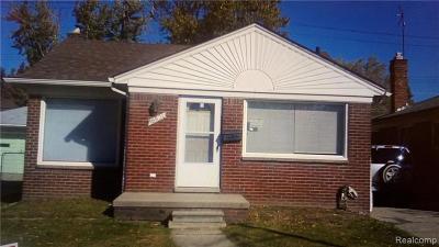 Warren, Eastpointe, Roseville, St Clair Shores, Clinton Township, Harrison Twp Single Family Home For Sale: 16821 E 8 Mile Road