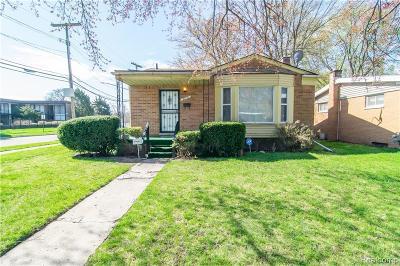 Detroit Single Family Home For Sale: 22701 Cambridge Avenue